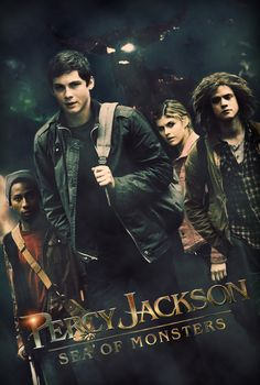 Percy Jackson: Sea of ​​Monsters Affiche de film par sadobistom Rick Riordan, Percy Jackson Film, Percy Jackson Fandom, Percy Jackson Tyson, Sea Of Monsters, The Lightning Thief, Tio Rick, Uncle Rick, Movie Covers