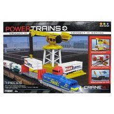 Amazon.com: Power City Trains Action Accessories Crane Set: Toys & Games