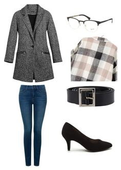 """""""Untitled #39"""" by alexa-barnes on Polyvore featuring White House Black Market, NYDJ, Dolce&Gabbana, Ray-Ban, women's clothing, women's fashion, women, female, woman and misses"""