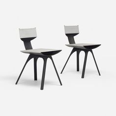 Alberto Meda rare Soft Light chairs, pair : Lot 243