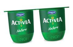 """Communication : l'emballage est un outil essentiel pour se distinguer des concurrents, en effet l'ensemble des marques du rayon ultra-frais utilise l'emballage classique dit RK. Danone à reçu le prix du design en 2013 avec le nouveau pot """"KISS"""".  De plus le nouveau nom """"Kiss"""" de ce packaging met en avant la douceur et la sensualité apportées par le yaourt. Danone a choisi d'uniformiser le packaging  de sa gamme yaourt (Activia, Velouté, Danacol...), afin de faciliter l'identification la…"""