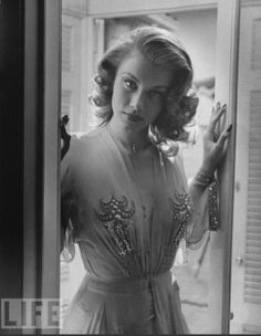 Linda Christian, the 1st Bond girl, who appeared in a TV adaptation of Ian Fleming's Casino Royale in 1954.
