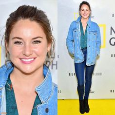 """NEW photos of Shailene Woodley at the National Geographic Channel """"Before the Flood"""" screening on October 20th in New York City! (HQ) • • [#shailenewoodley]"""
