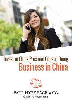 Invest in China: Pros and Cons of Doing Business in China Chartered Accountant, How To Find Out, Investing, China, Business, Store, Business Illustration, Porcelain
