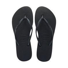 2dca93a67 Women s Black Slim Flip Flop -  1 Shipping at Havaianas Size 12 Women