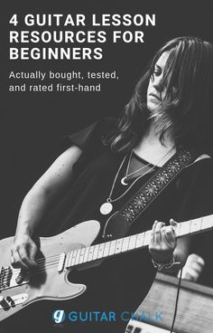 Online guitar lesson programs we've bought, tested, and rated with an eye towards compatibility and usefulness to the beginner. Guitar Tabs Songs, Guitar Tips, Music Guitar, Guitar Chords, Cool Guitar, Playing Guitar, Best Online Guitar Lessons, Best Guitar For Beginners, Types Of Guitar