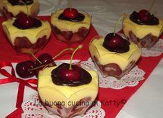 La buona cucina di Katty: Tiramisù al maraschino con ciliegie ...come lo preferite nel testo o nei bicchierini?