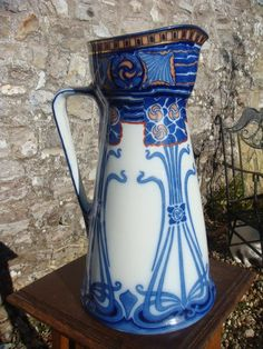Antiques Atlas - Arts & Crafts Royal Doulton Aubrey Jug