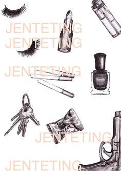 Jenteting - Terese B. Illustration, Illustrations