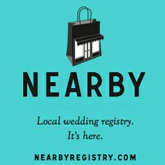 A local wedding registry? Yes, Please! Come to the 2014 One Love Wedding Showcase to learn about Nearby Registry and create a wedding gift list from your favorite independent businesses and nonprofits.