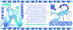 Chinese Zodiac water dog  born in Scorpio  by Valxart