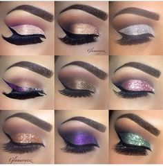 All the beautiful glitter eyes with Eye Kandy www.eyekandycosmetics.com