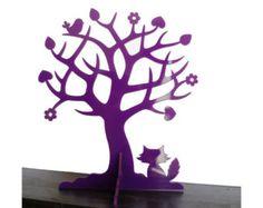 Christmas Day Gift, Jewelry Organizer, Jewelry Stand, Jewelry Tree, Jewelry Storage, by the Owl & Otter