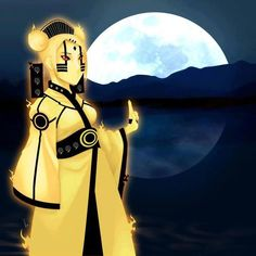 Mito Uzumaki amazing fan art