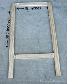 Cabinet Door Easel | House On Harrison & Cabinet Door Easel Perfect for Kids! | Crafts u0026 Things 2 Make ...