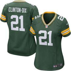 Nike Ha Ha Clinton-Dix Green Bay Packers Women's Game Jersey