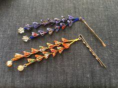 つまみ細工の下がりヘアピン❤️ #ハンドメイド#つまみ細工#雪元亭 Ribbon Crafts, Flower Crafts, Flowers In Hair, Fabric Flowers, Japanese Hairstyle, Kanzashi Flowers, Art N Craft, Rakhi, Hair Ornaments