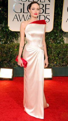 Angelina Jolie Golden Globes Green | Angelina Jolie…