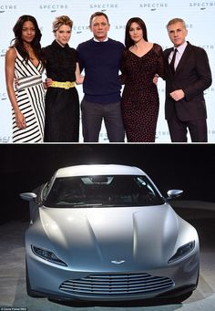 It\'s official! Daniel Craig set to be joined by star-studded cast in anticipated James Bond movie Spectre... as sleek new Aston Martin is unveiled Ralph Fiennes, Naomie Harris, Ben Whishaw and Rory Kinnear all reprising their former roles in the action movie Cast newcomers include Monica Belluci, Christoph Waltz, David Bautista and Léa Seydoux Belluci, 50, will make history when she becomes the oldest Bond girl to grace screens Sleek new Aston Martin DB10 also unveiled as the car of choice…