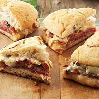Ever Ready: Super Bowl Italian Foccacia Sandwiches recipe posted January 28, 2013