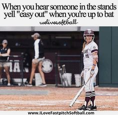 Yep The concept of sport is a process that emerges with the existence Funny Softball Quotes, Softball Cheers, Funny Sports Memes, Softball Pictures, Girls Softball, Sports Humor, Softball Stuff, Softball Things, Softball Hair