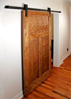 How To Install Flat Track Barn Door Hardware Interior Barn Doors