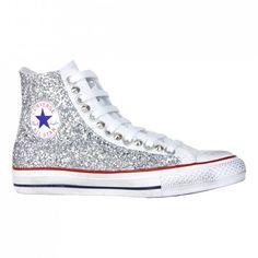 all star converse con brillantini