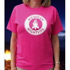 Michigan Nightlife, Michigan shopping on ShopMyNorth for Michigan apparel the Michigan Nightlife series of t-shirts and sweatshirts. Pink Hat, Nightlife, Michigan, My Style, Celebrities, Sweatshirts, Pride, Mens Tops, T Shirt