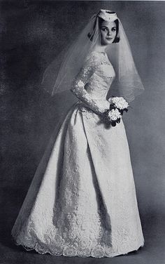 lace bride by Millie Motts, via Flickr
