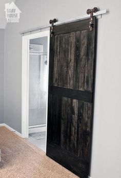 Creating A Wood Barn Door, Bedroom Ideas, Diy, Doors, How To,