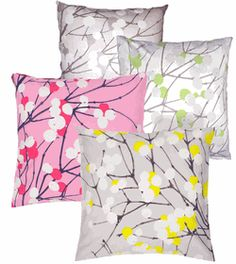 Marimekko pillows. Can't get enough.