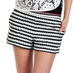 {Cadhia Short Black White} Dolce Vita - these shorts are pretty awesome