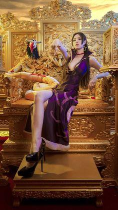 Boa Hancock Hot Cosplay by Thai Model Kawaii Cosplay, Cosplay Anime, Best Cosplay, Cosplay Girls, Amazing Cosplay, One Piece New World, Anime Toon, One Piece Cosplay, Models