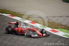 Scuderia Ferrari SF16-H during Friday free practice session of the 2016 Formula One Italian Grand Prix at the Autodromo Nazionale Monza.