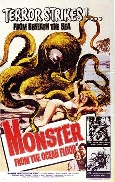 Monster From The Ocean Floor (1954)