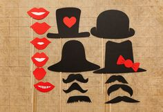 NEMA paperie. photo booth props