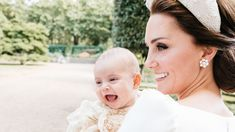 Kate Middleton Holds a Laughing Prince Louis in the Most Candid Royal Family Portrait Yet