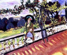 Henri Matisse On the terrace
