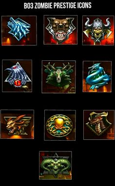 Black ops 3 Zombies (Prestige icons) - Imgur
