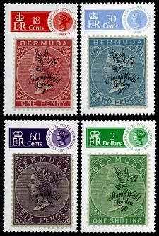 Bermuda London 1980 Stamps Postage Stamps, Mint, London, Stamps, London England, Peppermint