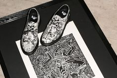 1461 - Artwork by Mark Wigan. Head to the Dr Marten's website to check out the collaboration.