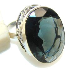 $54.85 Amazing Color Changing Quartz Sterling Silver Ring s. 8 at www.SilverRushStyle.com #ring #handmade #jewelry #silver #quartz