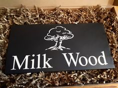 Here's a beautiful Welsh slate house sign that we designed for a Dylan Thomas fan.  Which of Dylan Thomas's works would you take inspiration from?