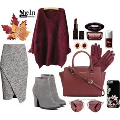 Shein Contest • Red Loose Sweater