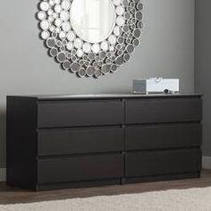 Zipcode Design™ Dendron 8 Drawer Double Dresser & Reviews | Wayfair 6 Drawer Dresser, Dresser With Mirror, Malm Dresser, Armoire, Bedroom Arrangement, Modern Dresser, Double Dresser, Wood Vanity, Bed Reviews