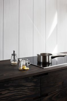 Danish company Reform has collaborated with Lendager Group and flooring manufacturer Dinesen to create a new sustainable kitchen design made of surplus wood Kitchen Furniture, Cool Furniture, Kitchen Decor, Furniture Stores, Kitchen Ideas, Furniture Websites, Wooden Room, Wooden Kitchen, Scandinavian Kitchen