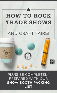 Are you going to the National Stationery Show (NSS), NY NOW, or another trade show or craft fair this year? Here are top tips from experienced sellers!
