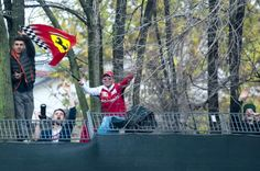 I tracked down a few of the tifosi who climbed the fence at Fiorano to watch Sebastian Vettel's first Ferrari test.