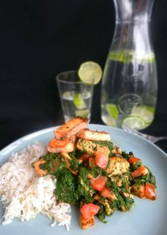 Simple Salmon with Spinach Recipe