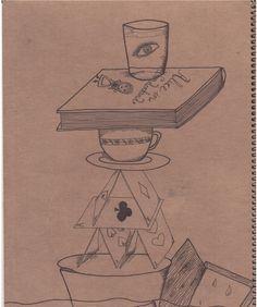 #illustration #draw #drawing #marker #alice #in #wonderland #aliceinwonderland